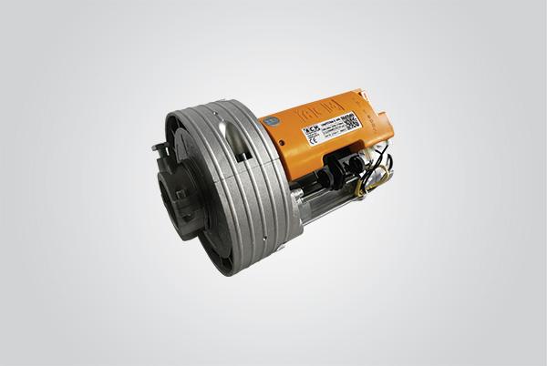 motor de enrolar simples